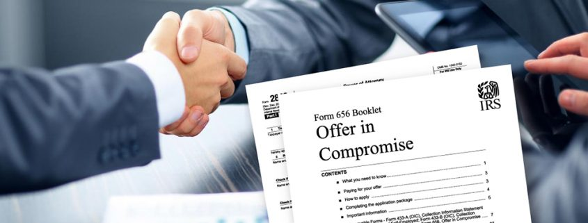 Offer In Compromise Offer In Compromise With Irs