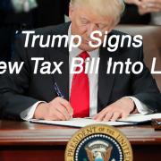 trump sign new tax law -2018 IRS tax bill