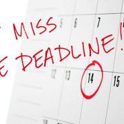 IRS tax filing deadline