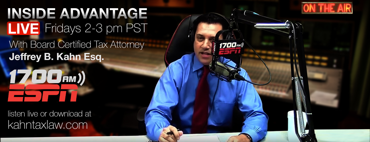 Radio Show Podcasts - Tax Attorney Orange County CA | Kahn