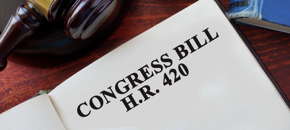 HR 420 cannabis legalization bill
