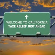 california tax relief